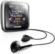 MP3-MP4 плеер Philips GoGear Spark 4 Gb silver (SA2SPK04S/02)