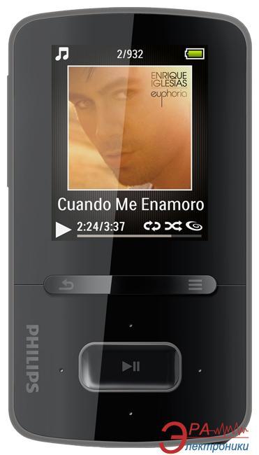 MP3-MP4 плеер Philips GoGear ViBE 4 Gb black (SA3VBE04K/02)
