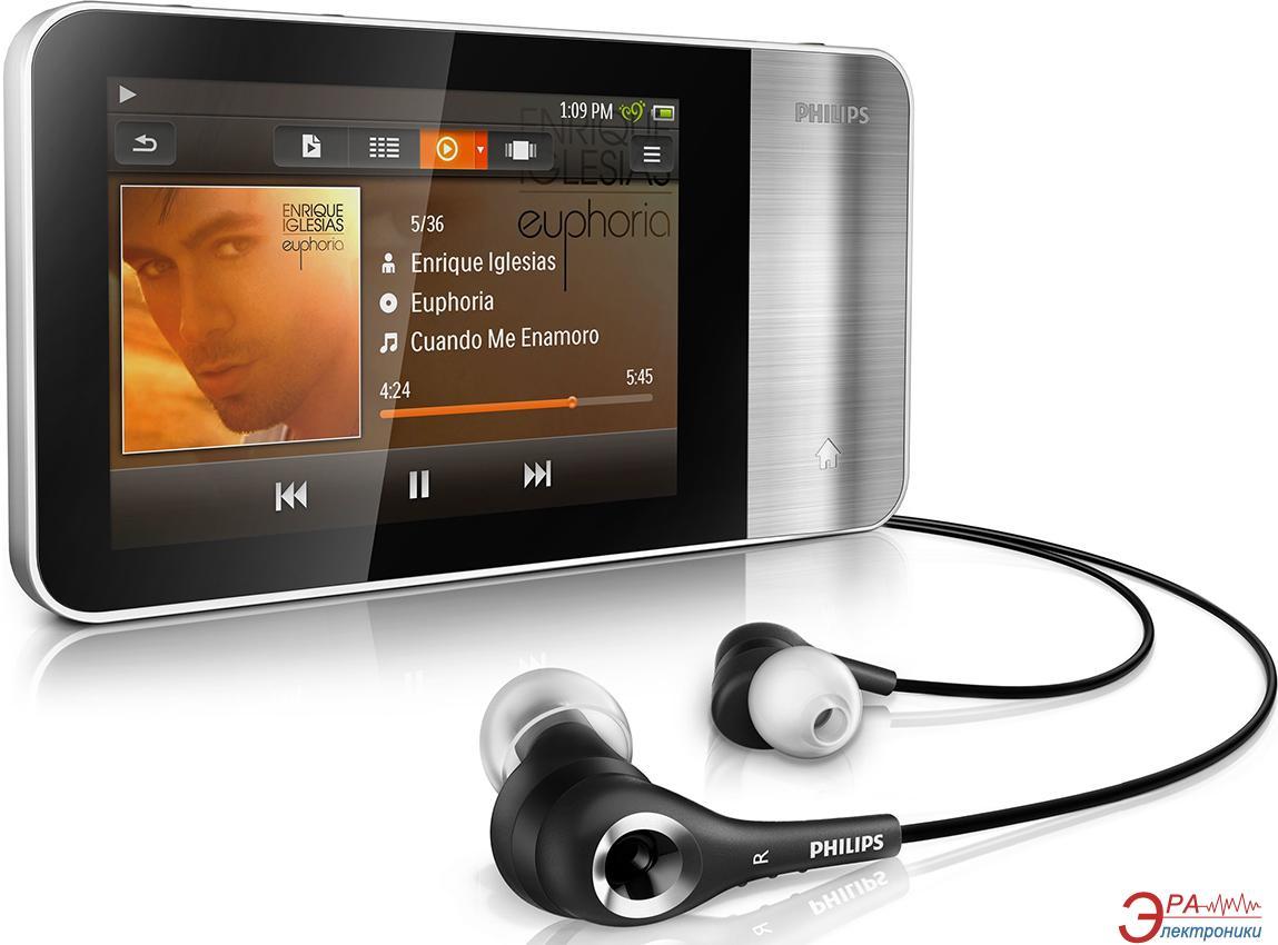 MP3-MP4 плеер Philips GoGear Muse 8 Gb (SA3MUS08S/02)