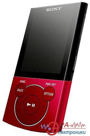 MP3-MP4 плеер Sony Walkman NWZ-E444 8 Gb red (NWZE444R.CEV)