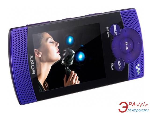 MP3-MP4 плеер Sony Walkman NWZ-S545 16 Gb violet (NWZS545V.CEV)