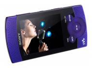 MP3-MP4 ����� Sony Walkman NWZ-S545 16 Gb violet (NWZS545V.CEV)