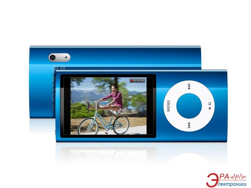 MP3-MP4 плеер Apple A1320 iPod nano 16 Gb blue (MC066QB/A)