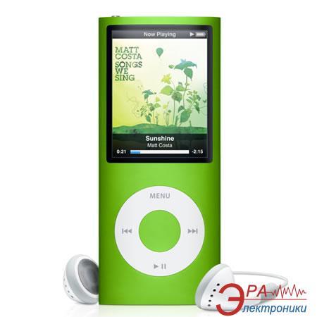MP3-MP4 плеер Apple A1320 iPod nano 16 Gb green (MC068QB/A)
