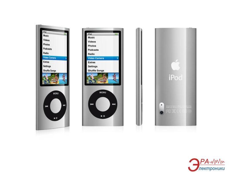 MP3-MP4 плеер Apple iPod nano 8 Gb silver (MC027)