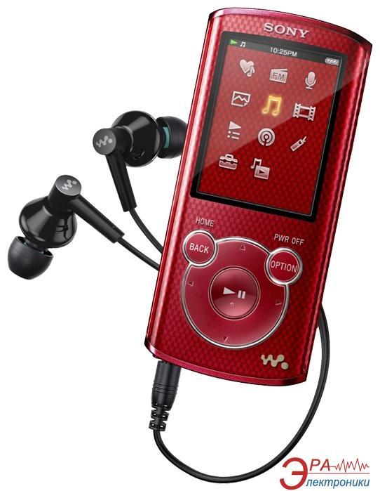 MP3-MP4 плеер Sony Walkman NWZ-E464 8 Gb Red (NWZE464R.CEV)