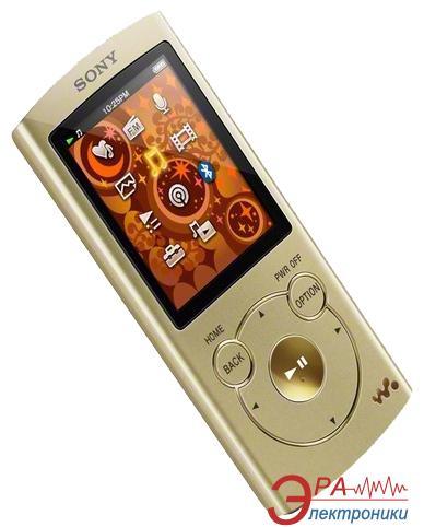 MP3-MP4 плеер Sony Walkman NWZ-S764 8 Gb Gold (NWZS764N.CEV)