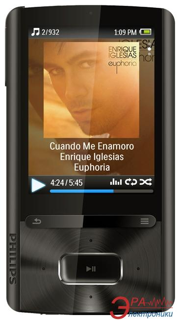 MP3-MP4 плеер Philips SA-3ARA04K/02 4 Gb black