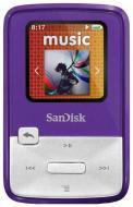 MP3 плеер SanDisk Sansa Clip Zip 4 Gb Purple (SDMX22-004G-E46P)