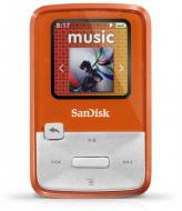 MP3 плеер SanDisk Sansa Clip Zip 4 Gb Orange (SDMX22-004G-E46O)