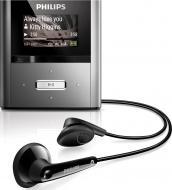 MP3 плеер Philips SA2RGA02K/02 2 Gb silver