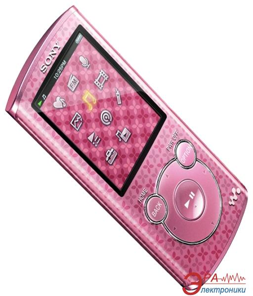 MP3-MP4 плеер Sony Walkman NWZ-E464 8 Gb Pink (NWZE464P.CEV)