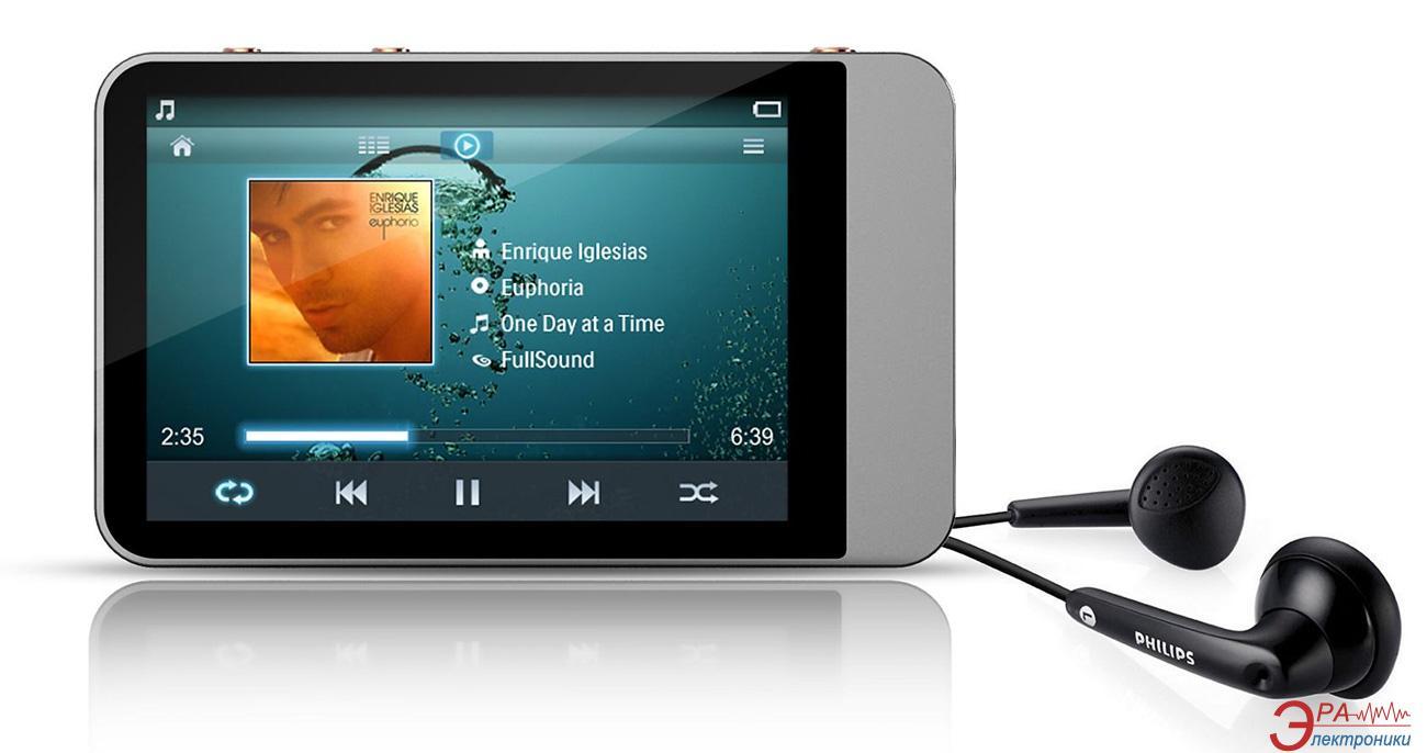MP3-MP4 плеер Philips SA060308S/97 8 Gb Silver
