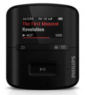 MP3 плеер Philips SA4RGA02KF/97 2 Gb Black