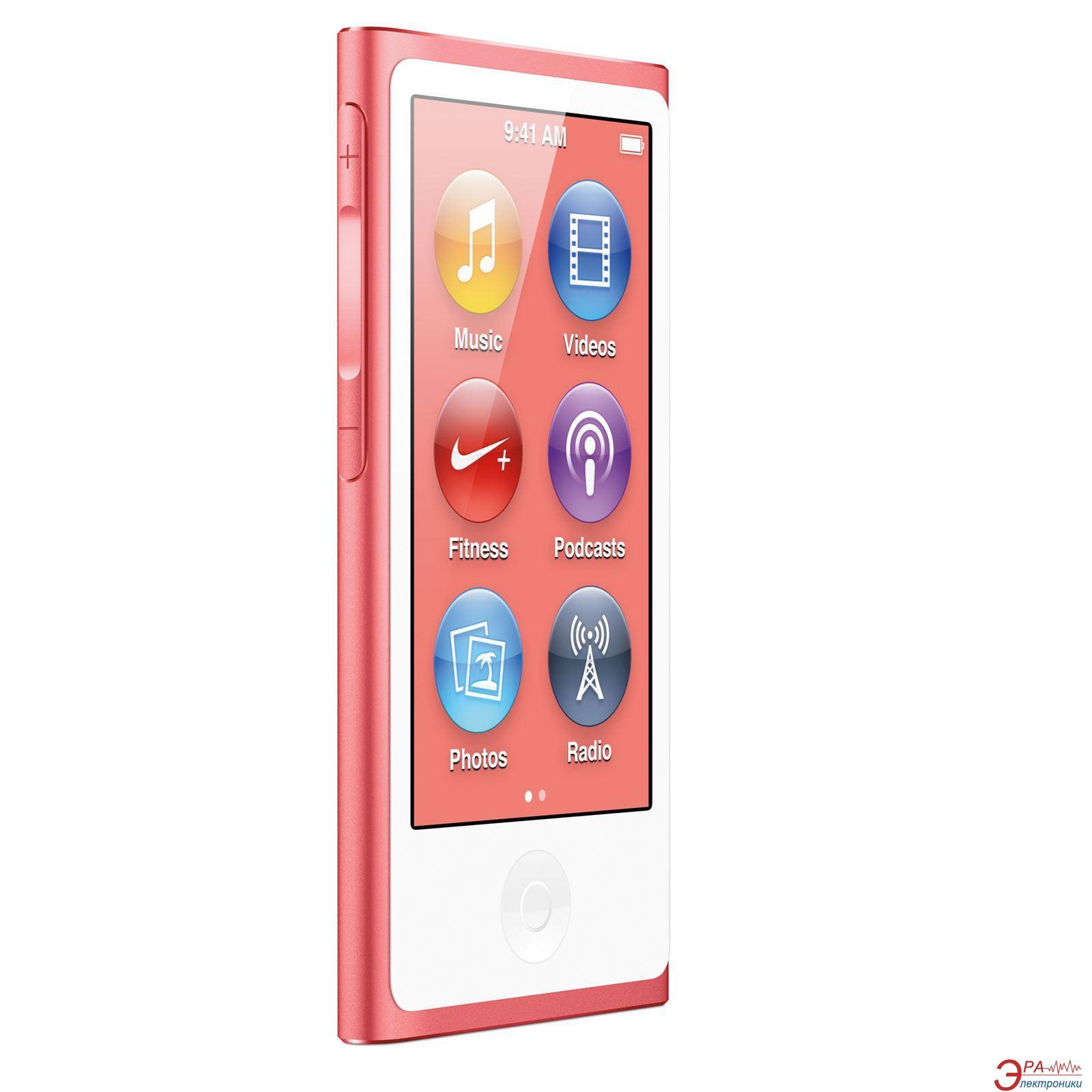 MP3-MP4 плеер Apple A1446 iPod nano (7Gen) 16 Gb Pink (MD475QB/A)