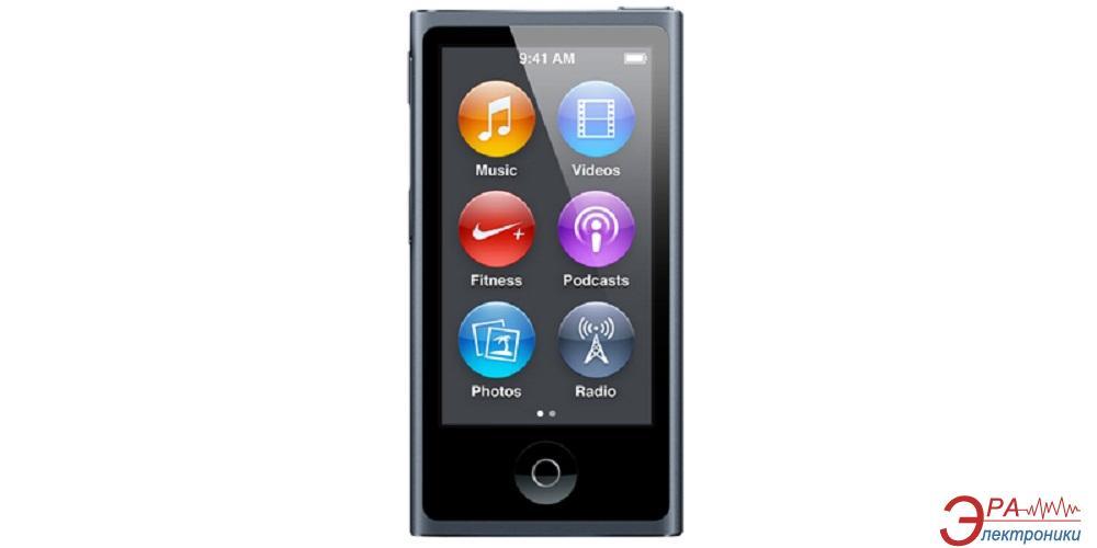 MP3-MP4 плеер Apple A1446 iPod nano (7Gen) 16 Gb Slate (MD481QB/A)