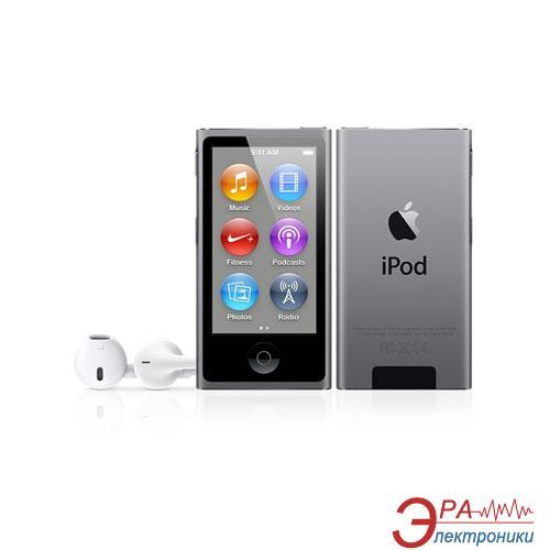 MP3-MP4 плеер Apple A1446 iPod nano (7Gen) 16 Gb Space Gray (ME971QB/A)