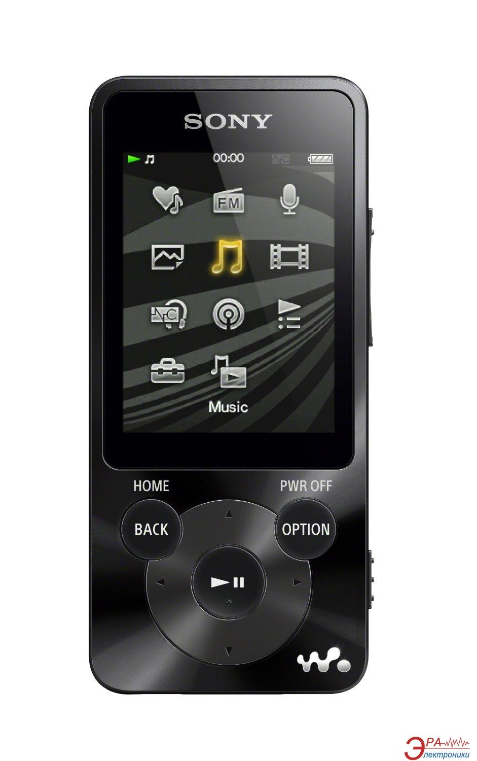 MP3-MP4 плеер Sony Walkman NWZ-E583 4 Gb Black (NWZE583B.EE)