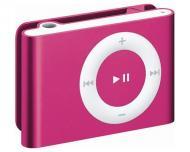 MP3 плеер Apple A1373 iPod shuffle (4Gen) 2 Gb pink (MC585BT/A)