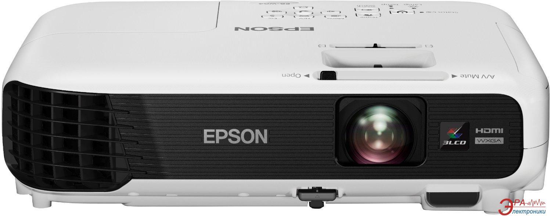 Проектор Epson EB-W04 (V11H718040) + в подарок Лампа Epson ELPLP88