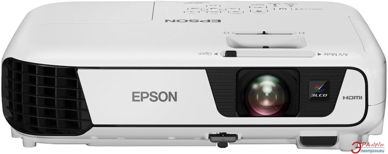 Проектор Epson EB-X31 (V11H720040) + в подарок Лампа Epson ELPLP88