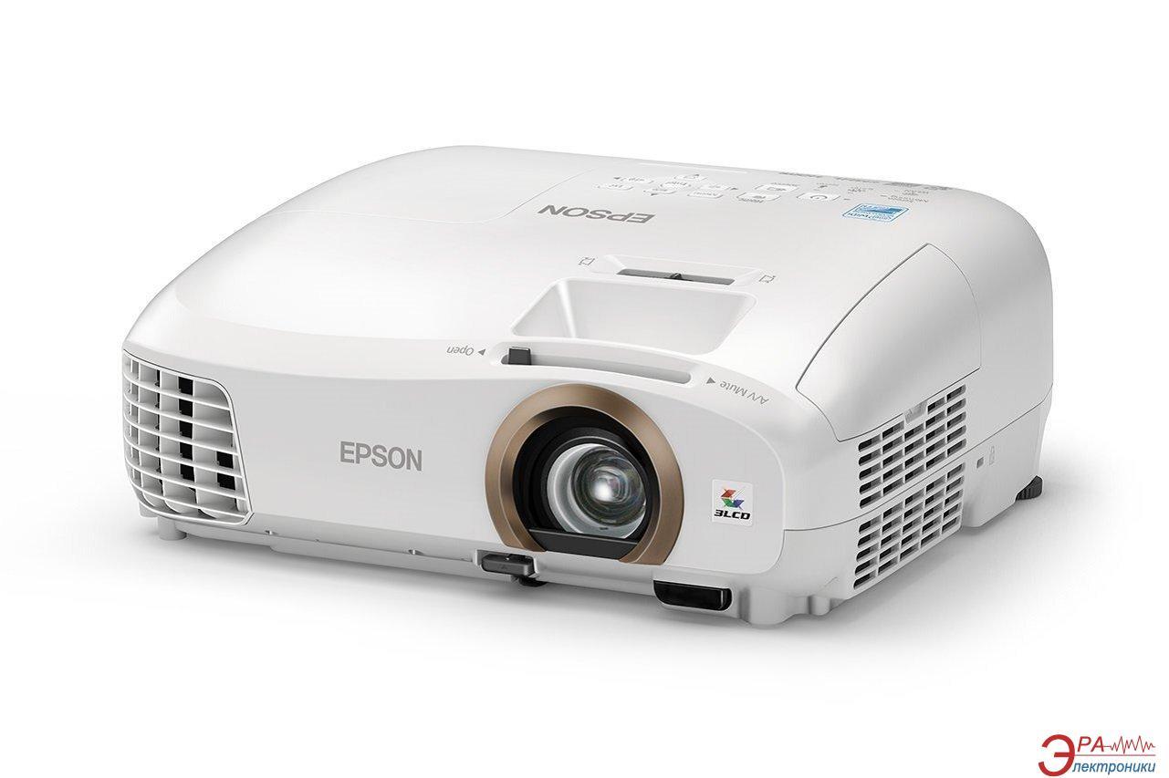 Проектор Epson EH-TW5350 (V11H709040) + в подарок Лампа Epson ELPLP88