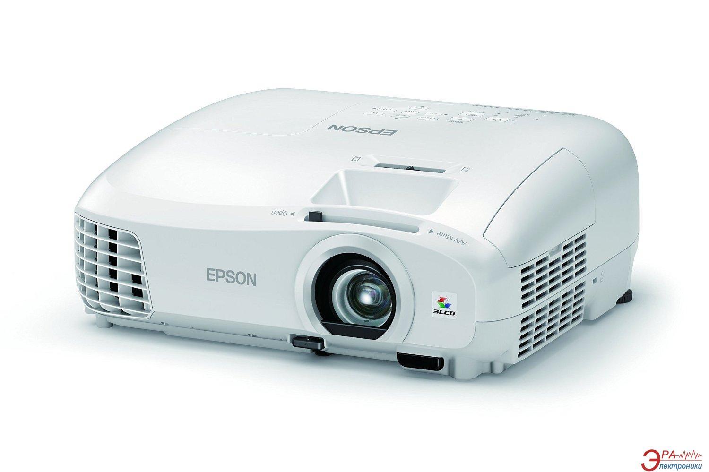 Проектор Epson EH-TW5210 (V11H708040) + в подарок Лампа Epson ELPLP88