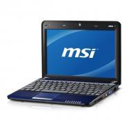 Нетбук MSI U135DX (U135DX-2871XUA) Blue 10.1