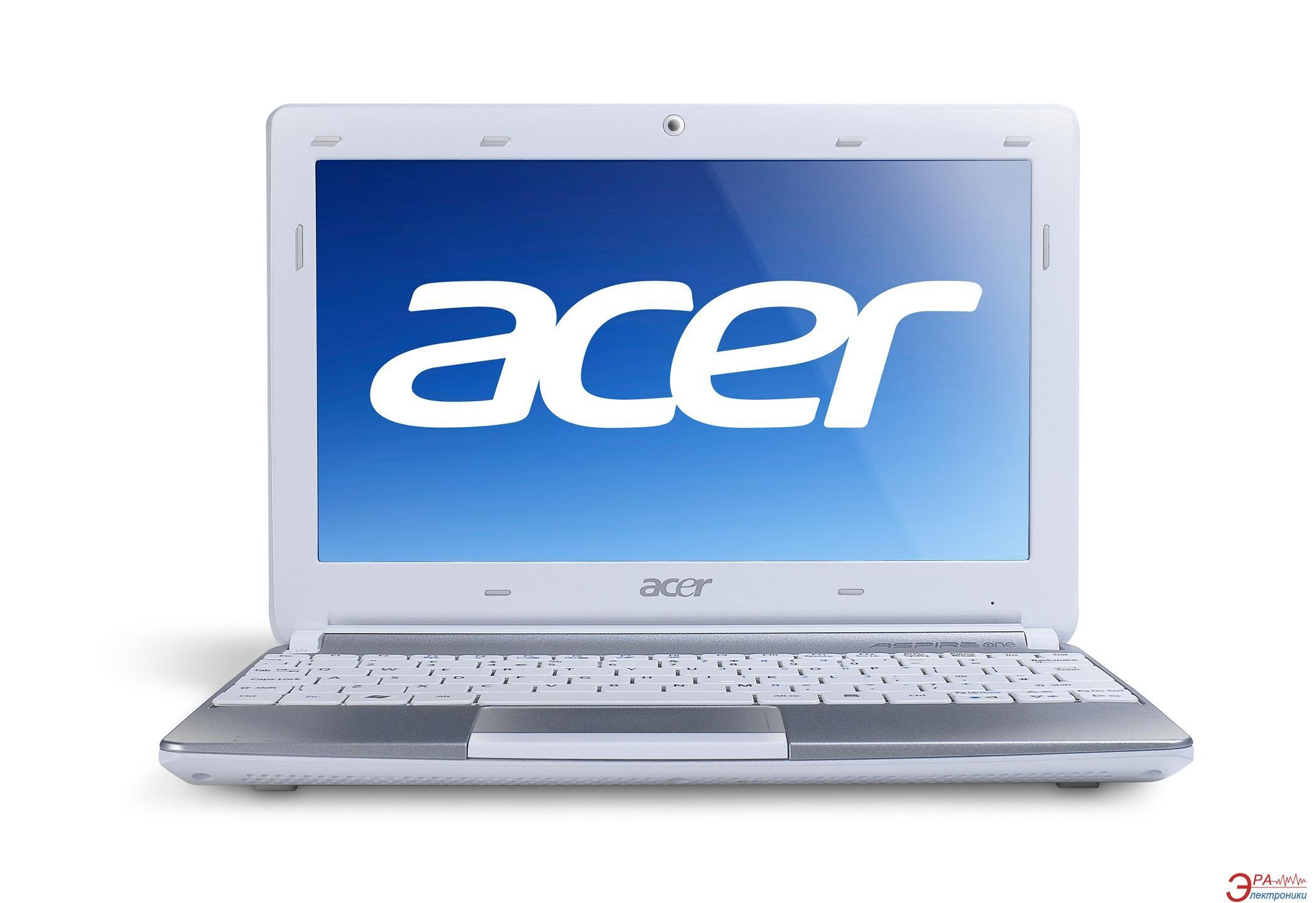 Нетбук Acer Aspire One D257-N57Cws (LU.SFW0C.045) White 10.1