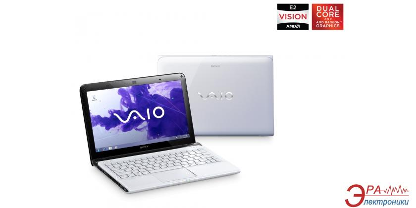 Нетбук Sony VAIO E1111M1R/W (SVE1111M1RW.RU3) White 11.6