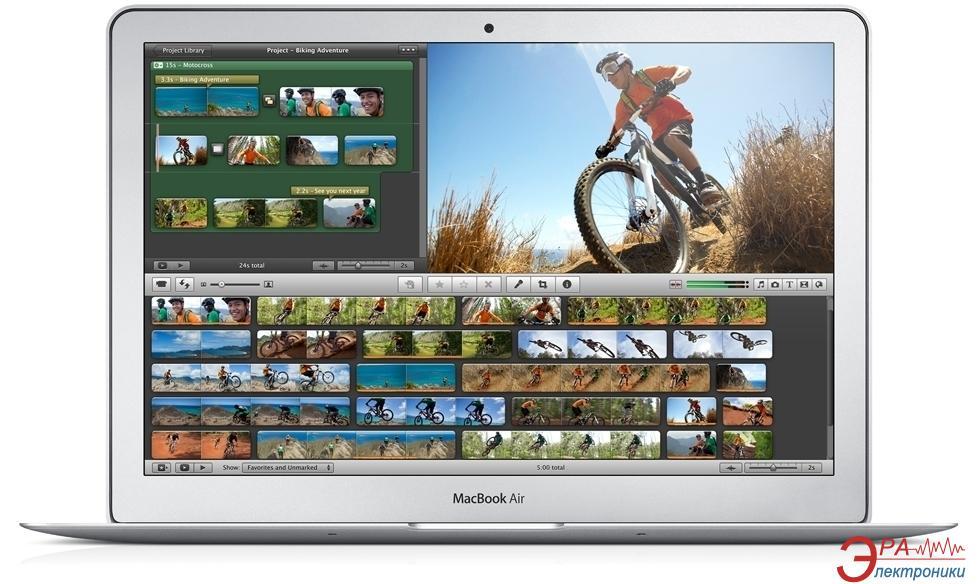Нетбук Apple A1465 MacBook Air (Z0NX0001Y) Silver +Чехол Forward GFORM Extreme Black в подарок! 11.6