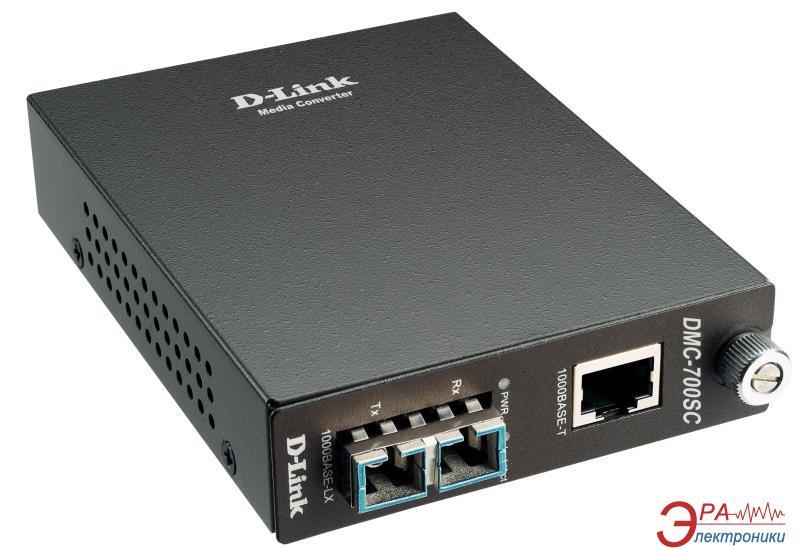 Медиаконвертер D-Link DMC-700SC