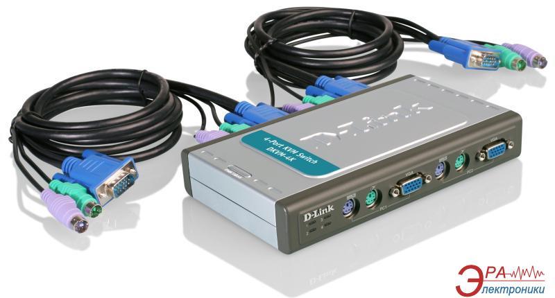 Переключатели KVM D-Link DKVM-4K