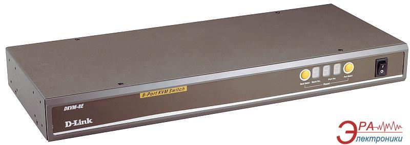 Переключатели KVM D-Link DKVM-8E