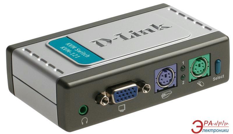Переключатели KVM D-Link KVM-121