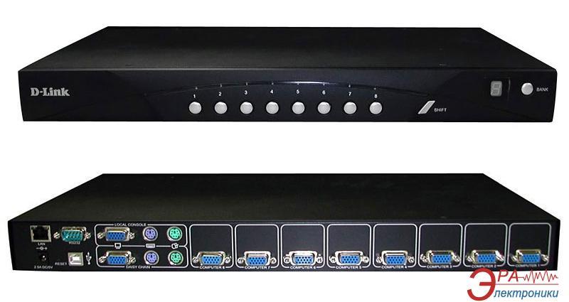 Переключатели KVM D-Link DKVM-IP8