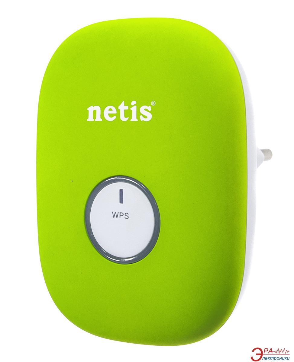 Беспроводной ретранслятор Netis E1+ Green