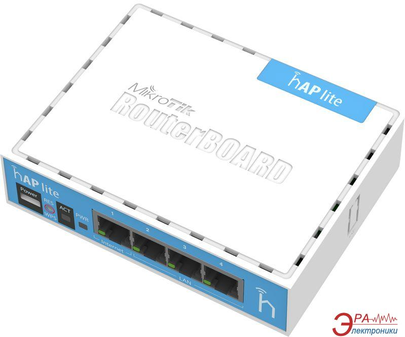Точка доступа Mikrotik hAP Lite RB941-2nD