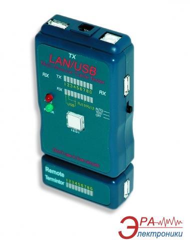 Тестер кабельный GMB NCT-2 (UTP, STP, USB)