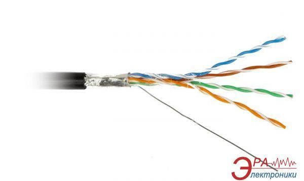 Кабель витая пара Hyperline (FTP4-C5E-SOLID-OUTDOOR-2451-CCA/88569)