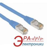 Патч-корд Noname литой, UTP, RJ45, Cat.5e, 5m, blue