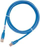 Патч-корд Molex RJ45 UTP 5e PVC 1м, (PCD-00180-OH) blue проводной