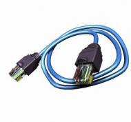 Патч-корд Molex RJ45 FTP Cat.6 PVC 2m (PCD-00307-OH) blue проводной