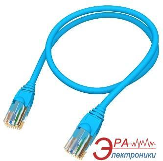 Патч-корд Molex RJ45 FTP 5e PVC 1m (PCD-00341-OH) blue проводной