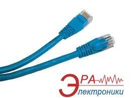 Патч-корд Atcom UTP cat.5e 3m blue (9162)