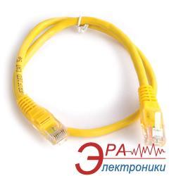 Патч-корд Gemix UTP cat.5e 0.5 m жовтий (Art.GC 1506) проводной