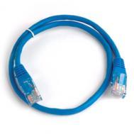 Патч-корд Gemix UTP cat.5e 0.5 m синій (Art.GC 1505) проводной