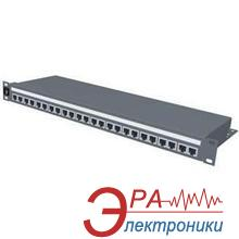 Патч-панель Molex 19 24хRJ45 FTP cat.5е 1U (PID-00030)