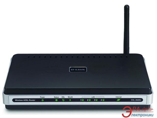 ADSL-модем D-Link DSL-2640U (DSL-2640U/BRU/CBX)