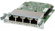 Модуль Cisco Four port 10/ 100/ 1000 Ethernet switch interface card (EHWIC-4ESG=)